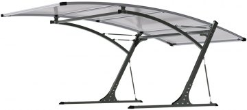 G21 Carport black/grey