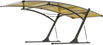 G21 Carport black/yellow