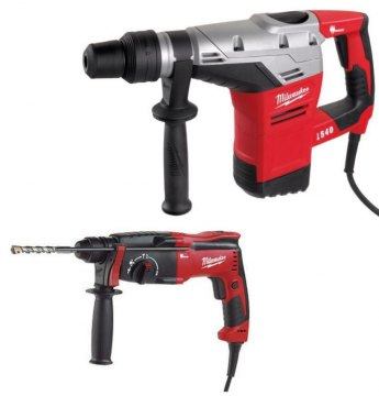 Milwaukee 2-dílný set 4933 CBT PH1 Kango K540S + PH26