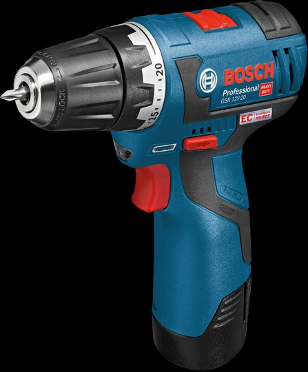 Bosch GSR 12V-20