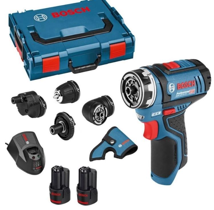 Bosch GSR12V-15FC Set + L-Boxx