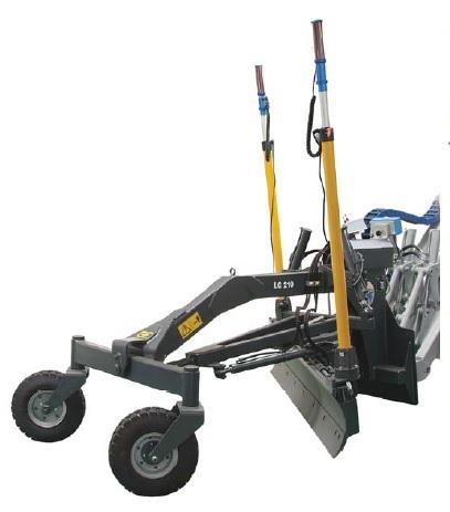 Multione Grejdr s hydraulickými ovládacími prvky