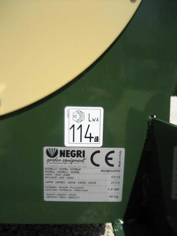 Negri bio R95T ( PTO, tříbodový závěs)