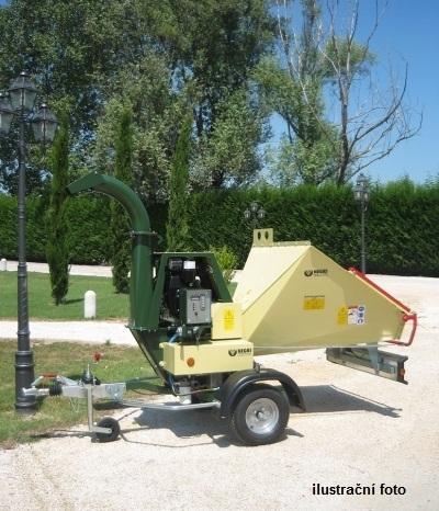 Negri bio R255DL19AN (Lombardini, zemědělský podvozek)