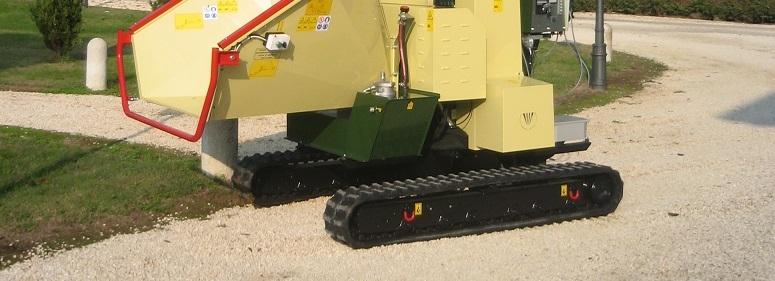 Negri bio R280DL26CI (Lombardini, pásový podvozek)